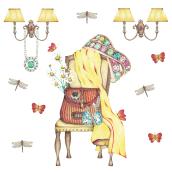 Hotel Moonrise. Mi Proyecto del curso Ilustración comercial con lápices de colores. Un progetto di Disegno a matita e Illustrazione di Marisa Licata - 24.12.2019