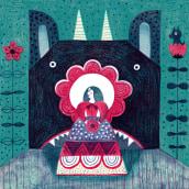 Ilustración editorial. Un proyecto de Diseño, Ilustración, Diseño de personajes, Ilustración digital e Ilustración infantil de Flavia Z Drago - 31.12.2019