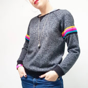 Stripey Sweater . A H, werk, Mode und Nähen project by Emma Friedlander-Collins - 03.01.2020