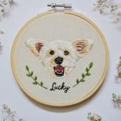 Lucky. A Stickerei project by Valentina Castillo - 04.01.2020
