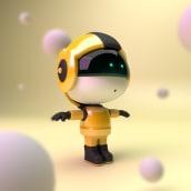 My Red Planet. Un proyecto de Ilustración, Motion Graphics, 3D, Animación, Animación 3D, Modelado 3D, Concept Art, Diseño de personajes 3D y Diseño 3D de Guille Amengual - 04.01.2020