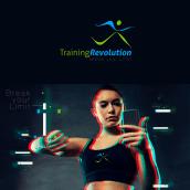 TRAININGREVOLUTION, Suiza_Brand Identity.. Un progetto di Design, Br, ing e identità di marca, Graphic Design , e Design di loghi di Alex Carcedo - 08.01.2020