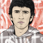 Ilustración Silk. A Illustration, and Portrait illustration project by Esteban Belvís - 01.09.2020