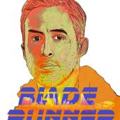 Ilustración Blade Runner. A Illustration, and Digital illustration project by Esteban Belvís - 01.09.2020