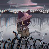 Gato Soldado. Um projeto de Ilustração, Design de personagens e Animação 2D de Luis Zúñiga - 12.01.2020