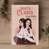 """Ilustración para """"Santa Clara"""" de Enid Blyton con RBA Molino. Un proyecto de Diseño editorial e Ilustración de Paqui Cazalla - 31.10.2019"""