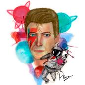 Mi Proyecto del curso: Retrato ilustrado en acuarela. Un progetto di Illustrazione di Javier Ramírez - 17.01.2020