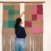 Cuadro Textil para casa en la playa. A Design, and Fiber Arts project by TRAMARTE - 01.18.2020