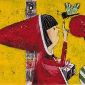 Libro Caperucita Roja. Un projet de Illustration de Santiago Solís Montes de Oca - 22.01.2020