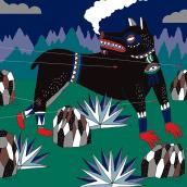 Libro Leyendas Mexicanas contadas otra vez. Un projet de Conception éditoriale et Illustration de Santiago Solís Montes de Oca - 22.01.2020