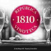 Imagen e Identidad Vinoteca 1810. Um projeto de Br e ing e Identidade de Natali Folonier - 23.12.2018