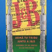 Dibujo y Diseño Gráfico J&B. Um projeto de Eventos, Design gráfico, Desenho a lápis e Design digital de Juan Bautista Baillinou - 10.01.1997