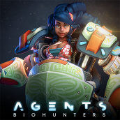 Witta - Agents: Biohunters. A 3D, 3d modeling, Video game, 3D Character Design, Design 3D, Game Design, and Game Development project by Manu Herrador - 02.03.2020