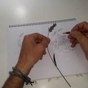 ISOLOGOTPO: ALMA de BRUJA. Um projeto de Design gráfico, Desenho a lápis, Desenho e Design de logotipo de Juan Bautista Baillinou - 13.07.2019