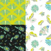 Mi Proyecto del curso. Creación y comercialización de patterns vectoriales.. Un proyecto de Ilustración digital e Ilustración textil de María Ángeles González - 30.01.2020