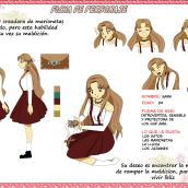 Mi Proyecto del curso: Creación de personajes manga. Um projeto de Design de personagens e Ilustração de Karen Oroz - 05.02.2020