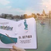 Mi Proyecto del curso: Creación de Libros POP-UP / DE MADRID AL CIELO. A Editorial Design, Bookbinding, and Paper Craft project by Silvia Hijano Coullaut - 02.11.2020
