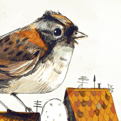 Los Visitantes. Un projet de Illustration de Alfredo Cáceres - 12.02.2020