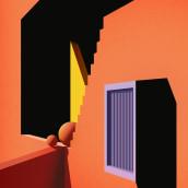 San Antonio Central Library. Un proyecto de Arquitectura, Diseño editorial e Ilustración vectorial de ely zanni - 19.02.2020