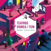 Teatros Romea / TCM. Enero-Junio 2020.. Un proyecto de Diseño editorial, Diseño gráfico e Ilustración de ZRVK - 01.02.2020