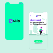 Skip- Movility app. A UI / UX project by Ricardo Builes - 02.21.2020