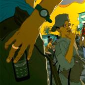 Toy soldiers. Un proyecto de Ilustración e Ilustración digital de Hector Grois - 24.02.2020