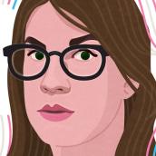 Elsa Ruiz. Un proyecto de Ilustración, Ilustración vectorial e Ilustración de retrato de Capi Cabrera - 27.02.2020