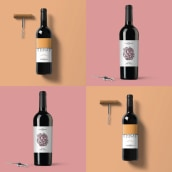 DB | Wines. A Illustration, Graphic Design, and Packaging project by Florencia Morales - 10.10.2017