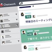 Chatwork. Un projet de Illustration, Motion Design, Infographie, Animation de personnage, Animation 2D et Illustration numérique de Raúl González - 01.10.2019