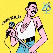 Ídolos - Podcast Cover. Um projeto de Ilustração, Design de personagens, Desenho, Ilustração digital e Design digital de Amatita Studio - 02.03.2020