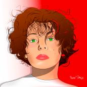 Anabelle Villechenoux.. Un proyecto de Diseño, Ilustración y Creatividad de Alejandro Gonzalez Masiello - 04.03.2020
