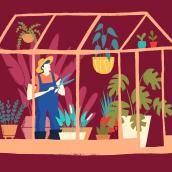 Greenhouse. Un proyecto de Ilustración de Albert Pinilla Ilustrador - 06.03.2020