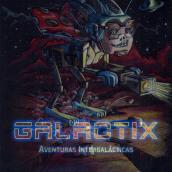portada libro ilustrado Galactix. A Verlagsdesign und Kinderillustration project by Alexander Fábrega Cogley - 09.03.2020