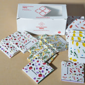 Mi Proyecto del curso: envoltorios de chocolate estampados y diseño de packaging. Un proyecto de Br, ing e Identidad, Packaging y Pattern Design de Fanny González - 09.03.2020