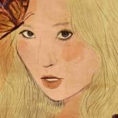 Mi Proyecto del curso: Técnicas de ilustración con acuarela digital. Un proyecto de Ilustración, Ilustración digital, Pintura a la acuarela e Ilustración de retrato de Fanny González - 10.03.2020