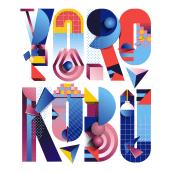 Type Illustration for Yorokobu. A Digital illustration, and Digital Lettering project by Birgit Palma - 12.12.2017