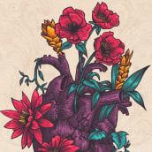 Growing. A Illustration, Graphic Design, Digital illustration, and Botanical illustration project by Dani Torres - 03.20.2020