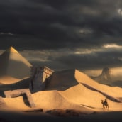 The Ancient Ruins. A Concept Art project by Koke Nunez - 03.26.2020