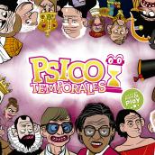 PsicoTemporales, juego de cartas Print & Play.. Un proyecto de Ilustración, Diseño de personajes, Diseño editorial, Diseño de juegos y Diseño gráfico de Carlos Vargas Gutiérrez - 26.03.2020