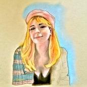Mi Proyecto del curso: Ilustración con pastel y lápices de colores. Um projeto de Ilustração de Jose Torres - 28.03.2020