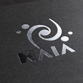 MAIA electronic music room. Un proyecto de Br, ing e Identidad, Diseño de logotipos y Naming de Paulina Vitti - 10.10.2016