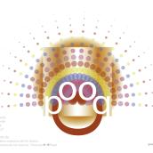 Propuesta de un logo para una marca de Dulces y Objetos de venta como Muñecos, etc. Un projet de Design graphique de Luis Encinar Martin - 01.04.2020