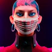 WOMAN'S NO FEAR. Um projeto de 3D, Design de personagens, Moda, Design de moda, Fotografia de moda, Modelagem 3D, Design de personagens 3D e 3D Design de Bernat Casasnovas Torres - 01.04.2020