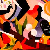 APPLE. A Digital illustration project by Willian Santiago - 04.02.2020