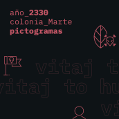 Marte_2330_Pictogramas. A Illustration, Graphic Design, Pictogram Design, and Digital Design project by Joel Miralles Meneses - 04.02.2020