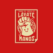 Pictoline Stickers vs. COVID-19. Un proyecto de Ilustración de Iván Mayorquín - 29.03.2020