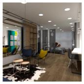 Mi Proyecto del curso: Diseño de interiores para espacios multifuncionales. Un proyecto de Diseño, Decoración de interiores y Diseño de espacios comerciales de Carolina Gomez - 06.04.2020