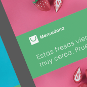 Mercadona Rebrand. Un progetto di Br, ing e identità di marca, Comunicazione , e Motion Graphics di Esteban Zamora Voorn - 07.04.2020