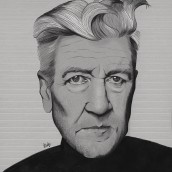 David Lynch. A Illustration, Digital illustration, Portrait illustration, Portrait Drawing, and Digital Drawing project by Judith González - 04.08.2020