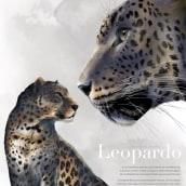 Leopardo. Un proyecto de Ilustración digital de Mechi Arrighi - 09.04.2020